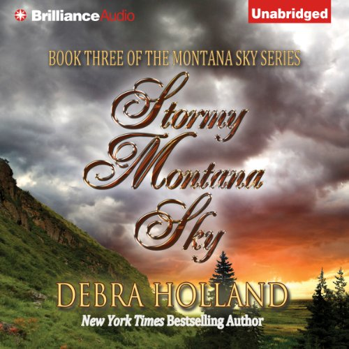 Stormy Montana Sky audiobook cover art