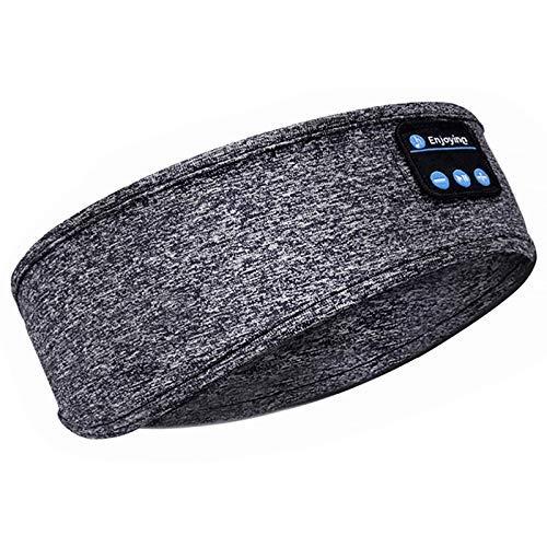 Upgrage - Cuffie per dormire, auricolari Bluetooth, morbidi e senza fili, con altoparlanti integrati per allenamento, corsa, yoga, viaggi in aria (HS-X04)