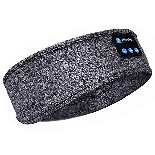 Auriculares para Dormir, Auriculares inalámbricos con Banda para la Cabeza V5.0 Bluetooth,...