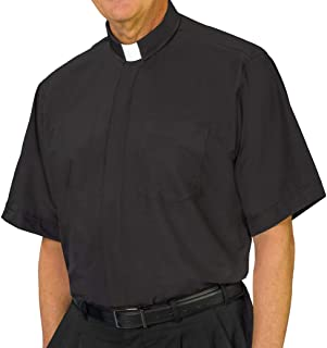 tab collar clergy shirt