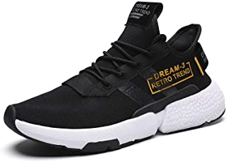 1d6320fc4e18 Velukin Hommes Femme Basket Running Chaussures de Sports Chaussures de  Course Sneakers Outdoor Gym Shoes