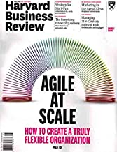 Harvard Business Review Magazine (May/June, 2018) Agile at Scale Cover