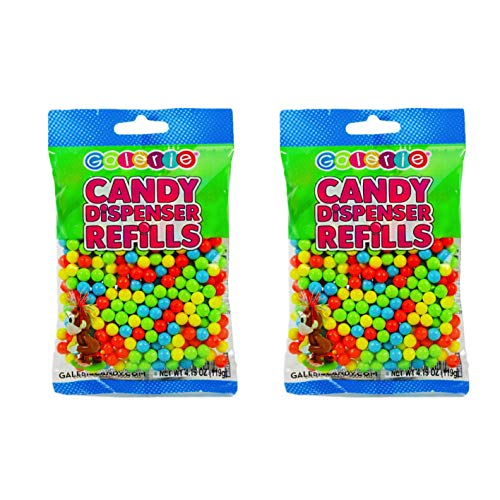 Candy Pooping Refills - Candy Balls for Candy Dispenser Refills - 2-4.19 oz Bags