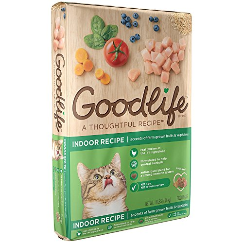 Goodlife Adult Indoor Chicken Recipe Dry Cat Food 16 Pounds (Discontinued By Manufacturer)