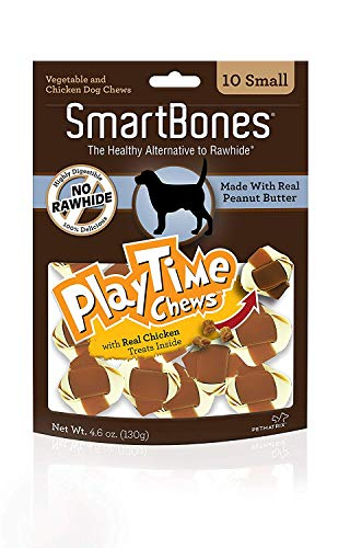 SmartBones PlayTime Chews for Dogs With Real Chicken Treats Inside Review
