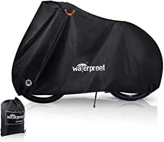 Bike Cover, Waterproof Dustproof Durable Bicycle Cover 210T Oxford Fabric with Lock Hole Protector From Sun UV Rain Snow f...