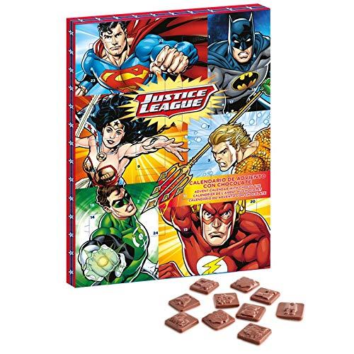 DC Comics Justice League Calendario de Adviento Chocolate con leche de Navidad 2018 (ORDEN ANTES DEL 27 DE...