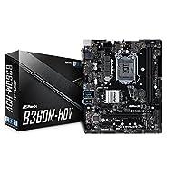 ASRock B360M-HDV LGA1151/Intel B360/DDR4/Quad CrossFireX/SATA3&USB3.1/M.2/A&GbE/MicroATX Motherboards