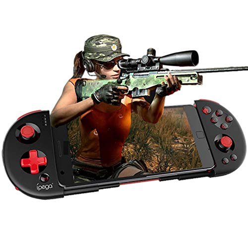 IPEGA PG-9087S Upgraded Version of the Wireless 4.0 Gamepad Multimedia Game Controller Joystick Compatible Android / iOS for iOS iPhone, Android Phone, Smart Phone /Tablet / Smart TV / Set Top Box