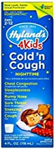Hylands Nighttime Cold and Cough Liquid 4 Kids, 4 Ounce -- 2 per case.
