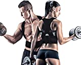 VIVNITS Premium Quality Unisex Magnetic Back Brace Posture Corrector Therapy Shoulde Belt Back Support Belt for Lower and Upper Back Pain Relief for Men and Women (One Size)