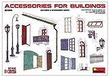 MiniArt MIN35585 35585 Accessories for Buildings Modellbauzubehör, verschieden -