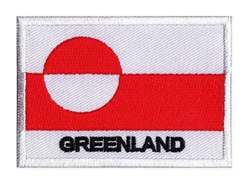 Aufnäher Flagge Grönland