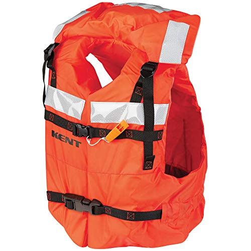 Price comparison product image Kent Universal USCG Approved Type I Life Jacket Orange (One Size)