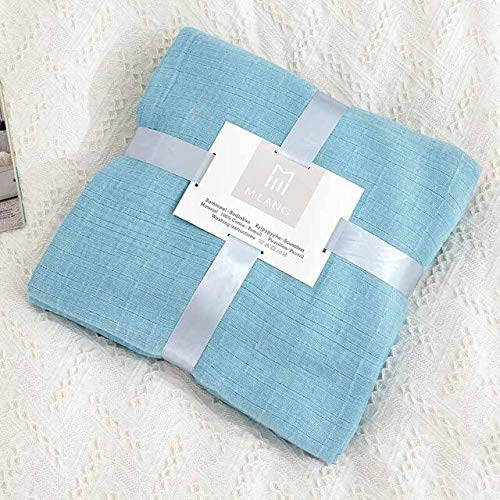 RAQ Grid Bank fauteuil Gebreide deken Coverlet Home Warm Bed Cover sprei Office Bank Quilt Plaid 200x230cm