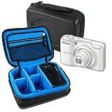 DURAGADGET Bolsa Acolchada Negra con Compartimentos para Cámara Sony Cyber Shot DSC-RX100M3 / Sony...