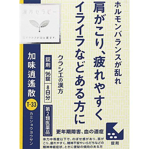 【第2類医薬品】「クラシエ」漢方加味逍遙散料エキス錠 96錠