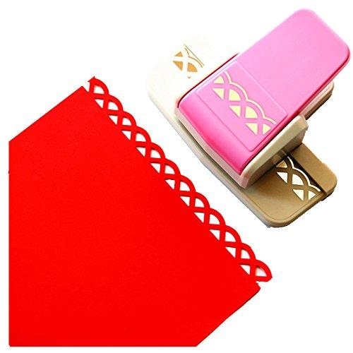 Cady Perforadora para artesanías; moderna y elegante perforadora para gofrar bordes de papel, ideal para álbumes de recortes. 6