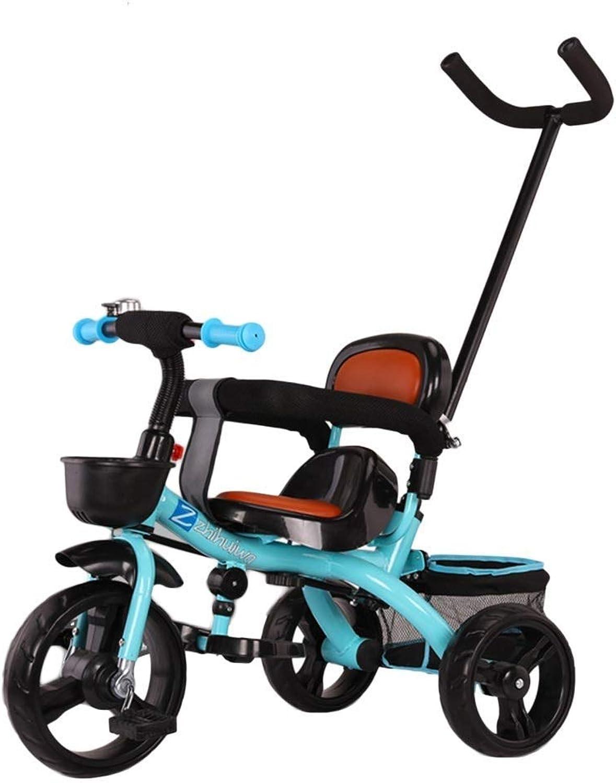 grandes ofertas BABYGAMK BABYGAMK BABYGAMK Triciclo de Niños pequeños Triciclo para bebés con manija de Empuje, dirección Triciclo de Paseo para Niños de 6 Meses a 6 años de Edad, ensamble rápido  colores increíbles