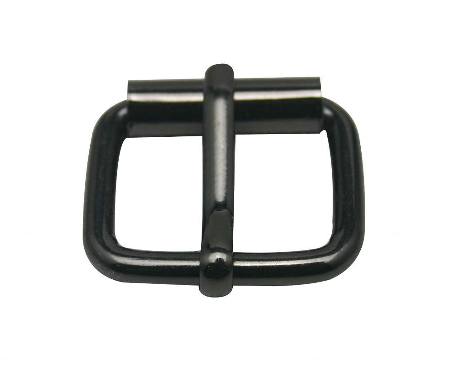 Generic Metal Gun Black Rectangle Buckle with Slider Bar 1