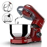 Nurxiovo 6.5QT Stand Mixer Kitchen, Tilt-Head 6-Speed Food Stand Mixer, 660W Electric Cake Mixer...