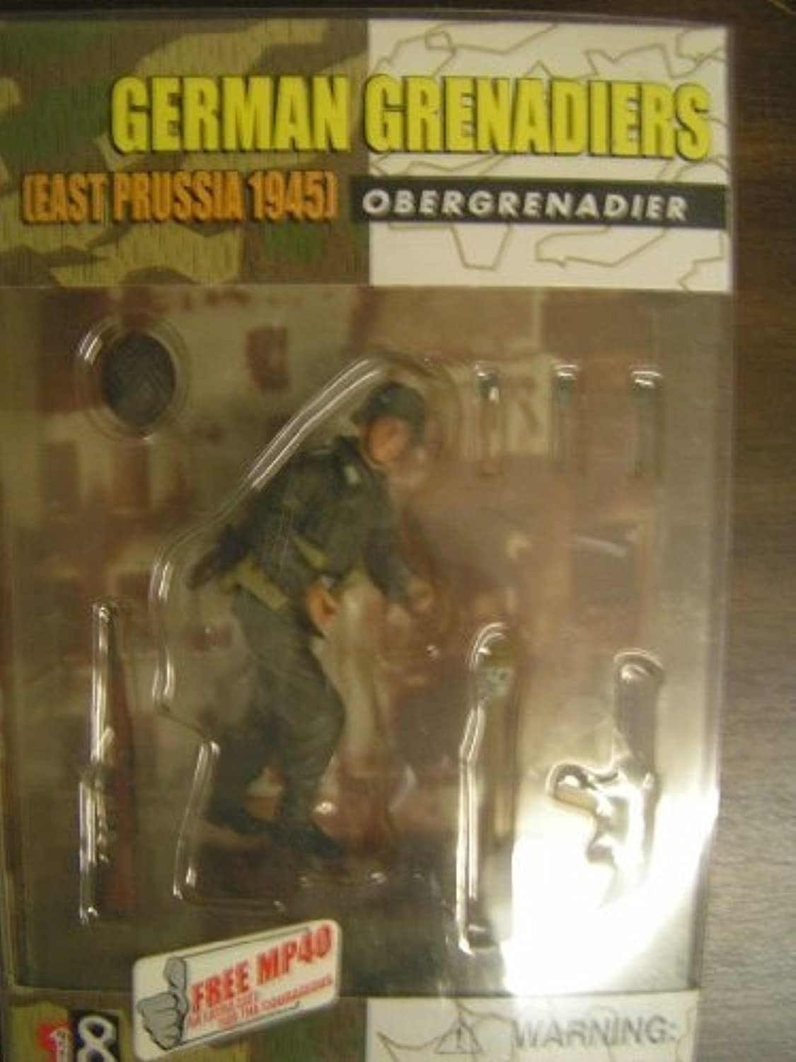 German Granadiers East Prussia 1945 Obergrenadier Dragon Action Figure 2001 by Action 18