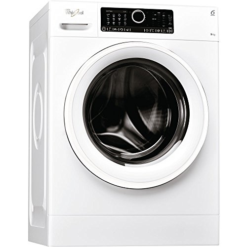 Whirlpool FSCR 90412 Independiente Carga frontal 9kg 1400RPM A+++-30% Blanco - Lavadora (Independiente, Carga frontal, Blanco, Giratorio, Tocar, Izquierda, Blanco)
