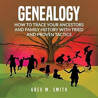 Genealogy audiobook cover art
