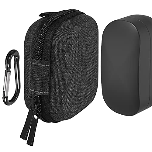 Geekria ケース 互換性 SONY WF-1000XM4 True Wireless Earbuds に対応 UltraShell イヤーホンケース ハードケース 旅行用 ハードシェルケース 収納ポーチ付属 (Dark Grey)