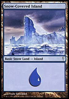 Magic: the Gathering - Snow-Covered Island - Coldsnap - Foil