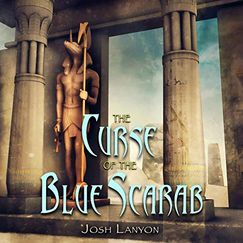 The Curse of the Blue Scarab cover art