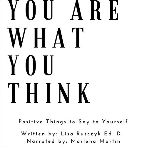 You Are What You Think audiobook cover art