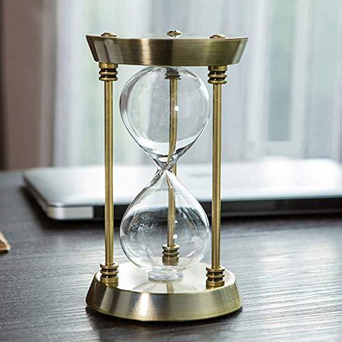 Reloj De Arena De Metal Creativo Vacío Reloj De Arena, Cumpleaños Regalo De Boda Del Día De San Valentín, Hogar Decoración Cocina Temporizador