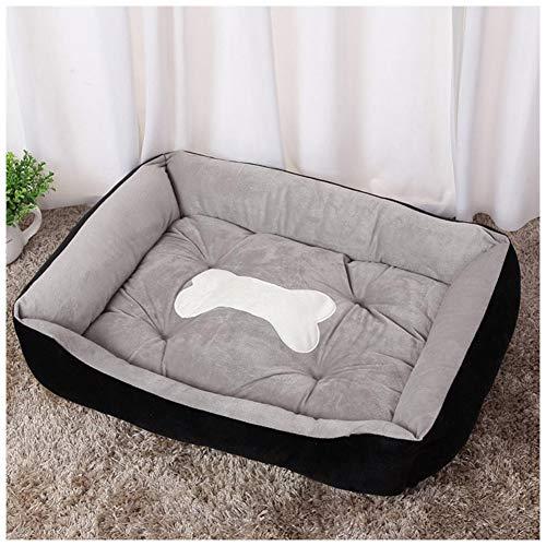 DHQSS Hondenbed, kat of hond super zachte huisdier, slaapbank, huisdierbed, warm en ademend huisdierbed, geschikt voor kleine, middelgrote en grote huisdieren