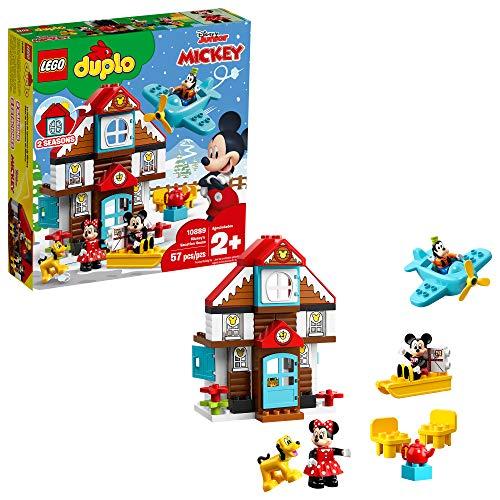 LEGO DUPLO Disney Mickey's Vacation House 10889 Toy House...