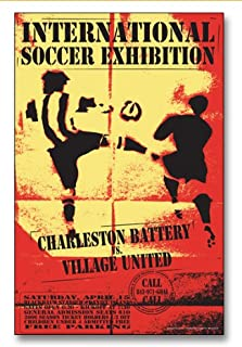 ECHO-LIT Charleston Battery vs. Village United USL Event Soccer Poster
