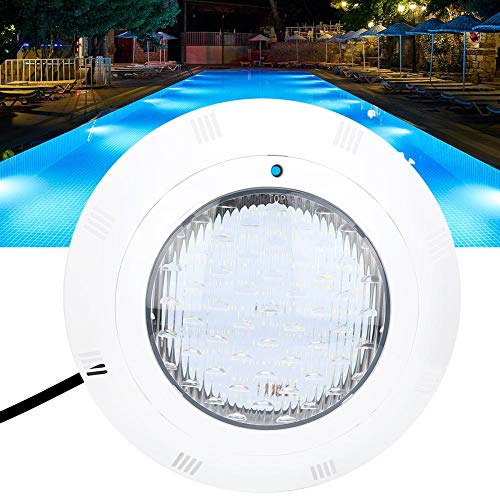 Redxiao Luces LED sumergibles con Control Remoto, AC12V 40W 360 LED Luz de Color Blanco Luces subacuáticas para Piscinas Luces Multicolores Que cambian para bajo el Agua, Paisaje, jardín, Fuen