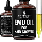 EMU Oil For Hair Growth by Hair Thickness...