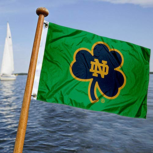College Flags & Banners Co. Notre Dame Boat and Nautical Flag