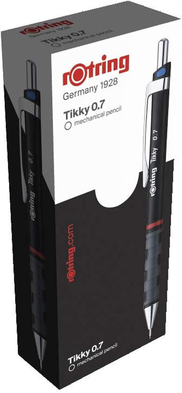 Rotring Tikky Druckbleistift mit ergonomischem Grip Wave, Wave, Wave, 0,7 mm, 12 Stück B001QJF0BI | Umweltfreundlich  a130cc
