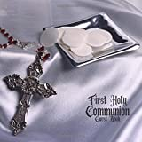 First Holy Communion Guest Book: Keepsake Message Memory Book With Gift Log & Photo Pages, For Family And Friends Guest Register To Write Sign In, For ... Women, Boys & Girls (Holy Communion Gifts)
