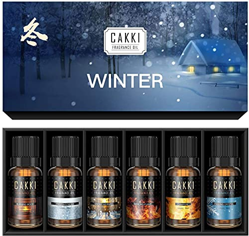 Winter Essential Oils Set for Diffuser Aromatherapy, for...