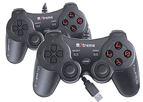 Joypad Extreme Friends Kit 2er Set 2,5m für PS3 und PC [import allemand]