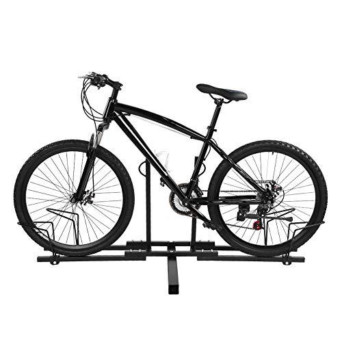 Fietsendrager voor dakdrager, fietsendrager van metaal, afneembaar, eenvoudig te vervoeren, 150 x 60 x 60 cm