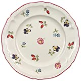 Villeroy & Boch Petite Fleur Plato para pan, 17 cm, Porcelana Premium, Blanco/Colorido