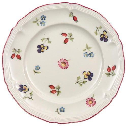 Assiette à pain Petite Fleur Villeroy & Boch (10-2395-2660), Porcelaine, Convient pour 1 Personne, 1 Assiette