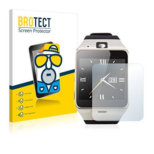 BROTECT 2X Entspiegelungs-Schutzfolie kompatibel mit Tera Aplus Displayschutz-Folie Matt, Anti-Reflex, Anti-Fingerprint