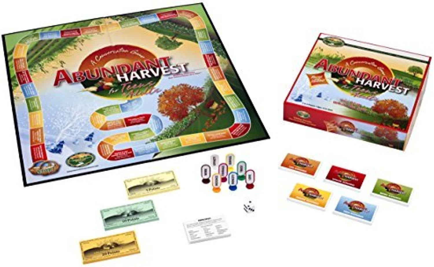 Abundant Harvest Board Game for Teens and Adults by Harvest Time