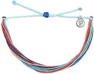 دستبند جواهرات Pura Vida دستبند روشن - 100٪ ضد آب و دست ساز W / پوشش داده شده ، باند قابل تنظیم
