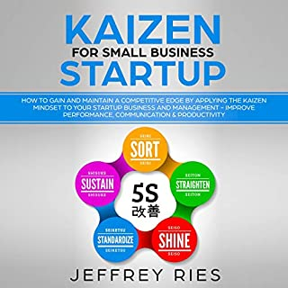 Kaizen for Small Business Startup audiobook cover art